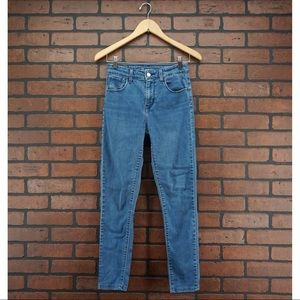 LEVIS High Rise Stretch Skinny Jeans Size 26